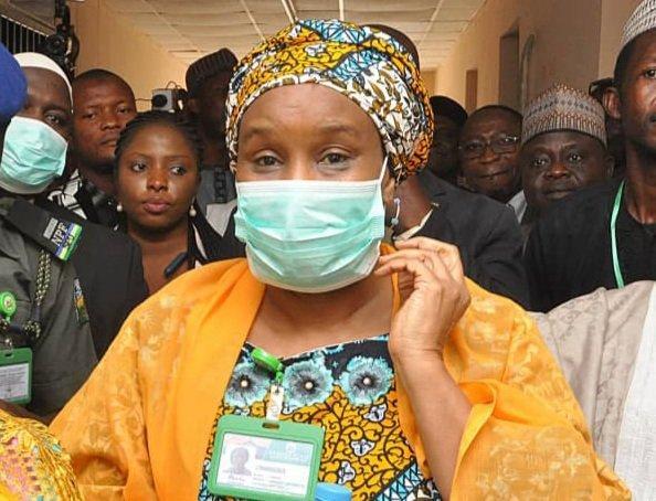 Kaduna State Health Commissioner Dr Amina Mohammed-Baloni