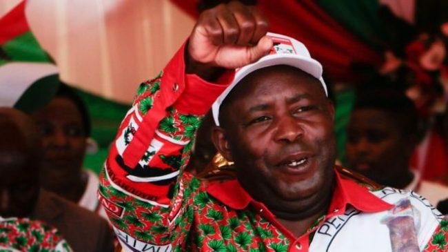 Evariste Ndayishimiye was due to take over in August