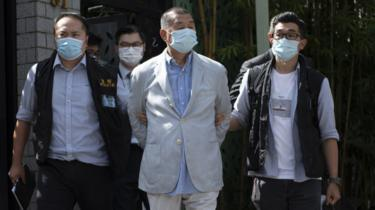 Lai: Hong Kong media tycoon arrested under security law