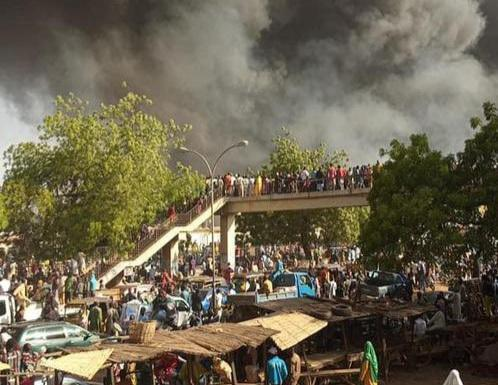 Sokoto market fire