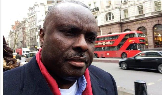 James Ibori, seen outside the high court in 2017