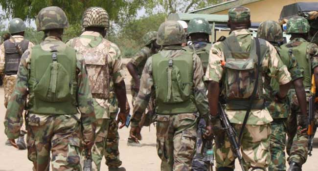 Soldiers protest poor equipment, unpaid allowances in Borno