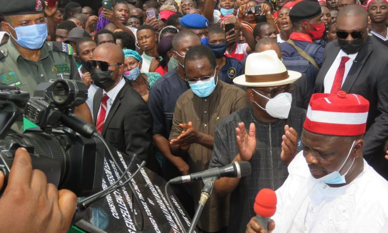 Kwankwaso commissions Rumuogba flyovers in Port Harcourt