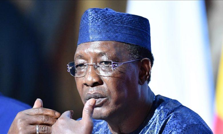 Chad President Idriss Deby Itno