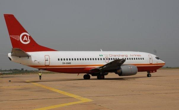 Chanchangi Airlines 5N-BMB