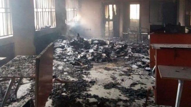 Hoodlums set Federal High Court Abakaliki on fire – Police