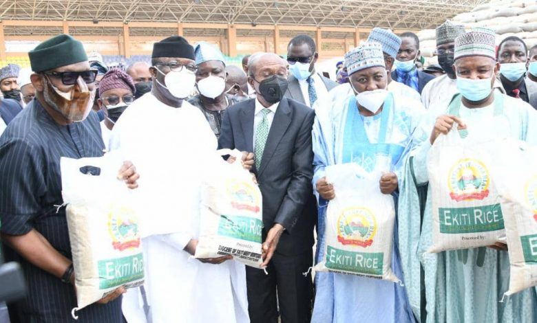 Emefiele faults claims of imbalance in agric interventions, tasks stakeholders on food security