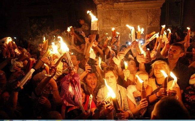 Israel stops Christians from Holy Fire ceremony