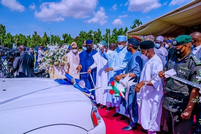 Buhari orders upward review of police salaries and benefits