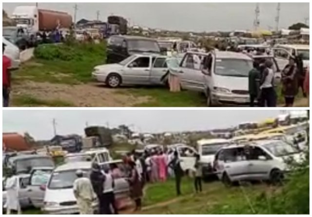 Abductions: Gonin Gora residents block Kaduna-Abuja road again