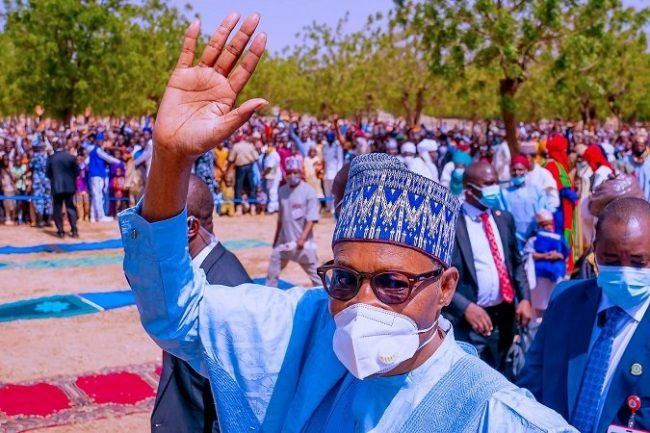 I was surprised only 2.5% of arable land in Nigeria is being cultivated – Buhari