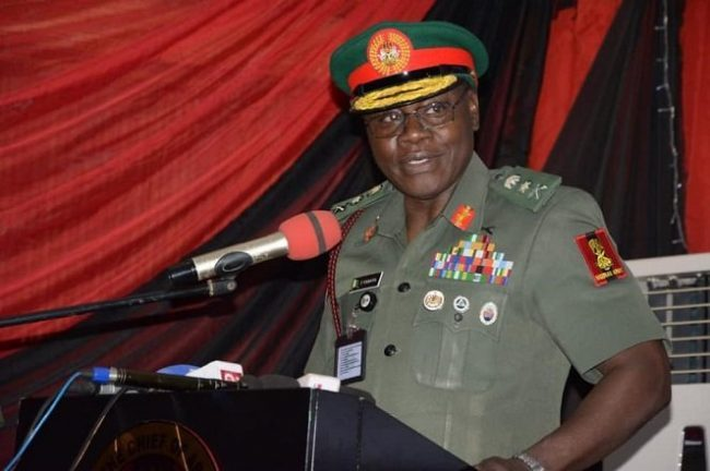We'll reposition Nigerian Army for efficient operations, COAS says