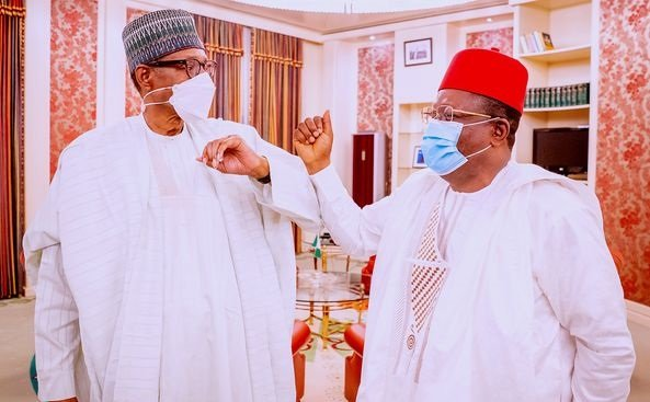Umahi: God will give Nigeria another good president like Buhari in 2023